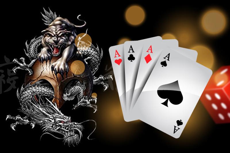 เกมไพ่เสือมังกร-พนัน