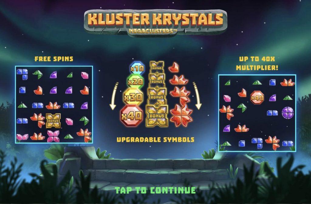 Kluster Krystals Megaclusters-พนัน